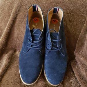Tommy Hilfiger Blue Suede ladies shoes